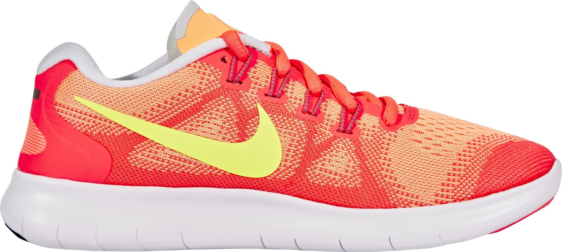 Løpesko Running GulOrangeGode Nike 2 Free Dame hos tilbud RN Y7b6ygf